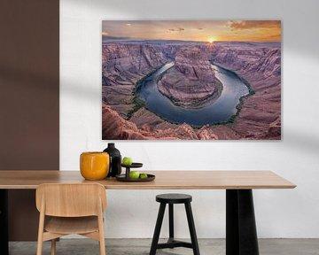 Horseshoe Bend, Page, Arizona van Sander Sterk