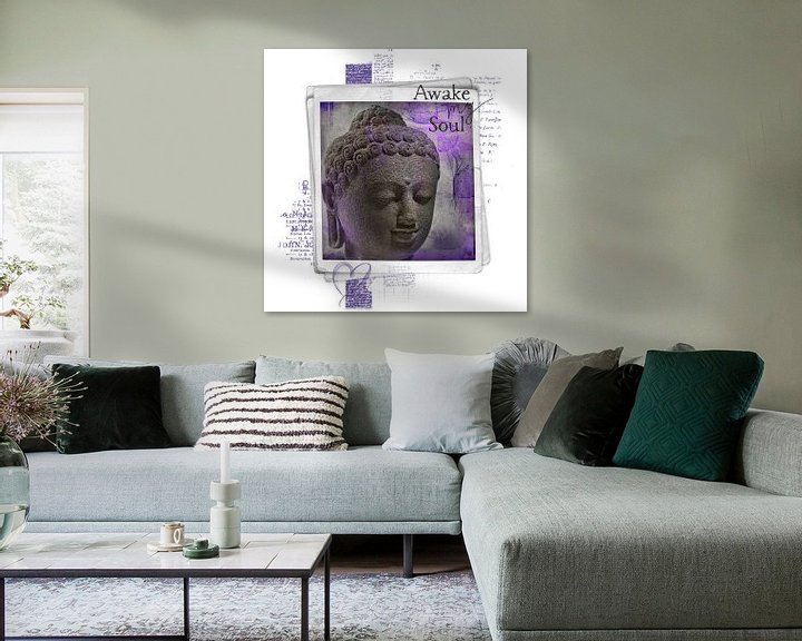 Sfeerimpressie: Awake my soul - boeddha van Studio Papilio