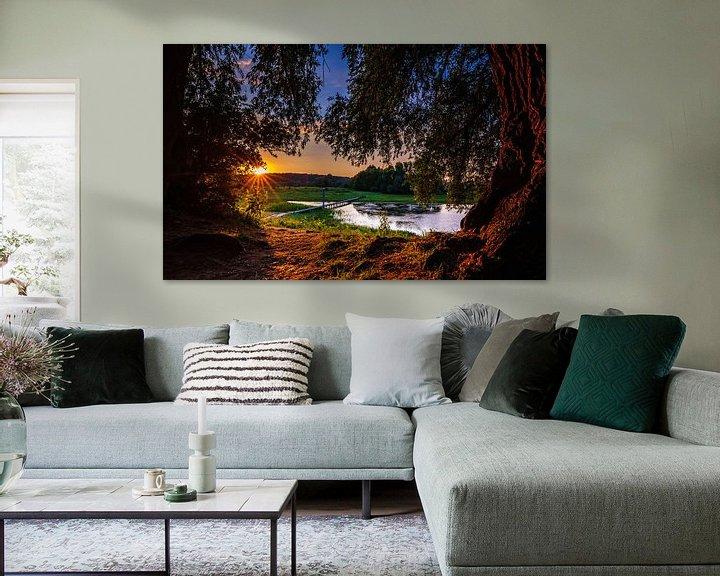 Sfeerimpressie: Blauwe Kamer van Sander Peters Fotografie