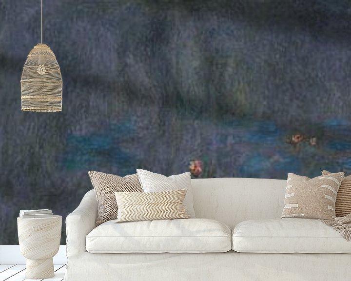 Sfeerimpressie behang: Waterlelies (serie), Claude Monet