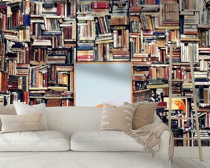 Sfeerimpressie behang: Imagination van Jacky