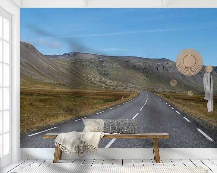 Sfeerimpressie behang: Snaefellsnes, Iceland van Hans Kool