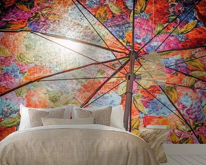 Sfeerimpressie behang: Felle zon! van Jan van der Knaap