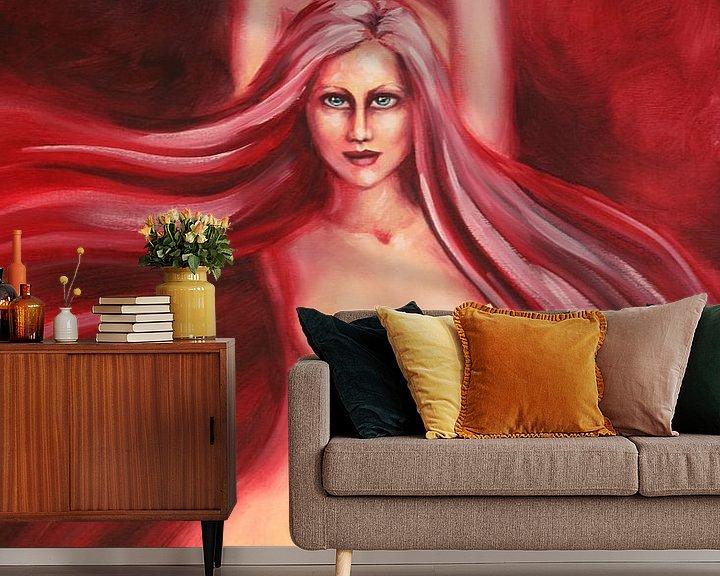 Sfeerimpressie behang: Mood van Marije du Bateau