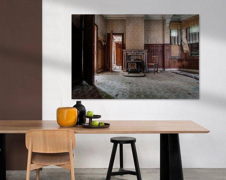 Sfeerimpressie: De woonkamer van Anya Lobers