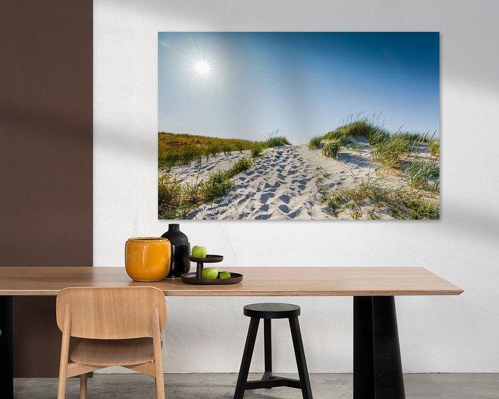 Beispiel: Sonne über Fischland / Darß von Ursula Reins