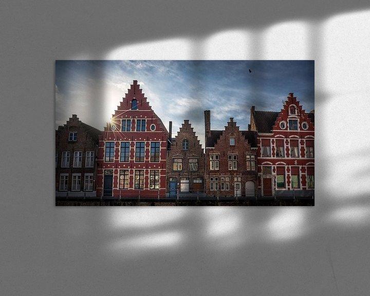 Sfeerimpressie: Old style houses van Remco van Adrichem