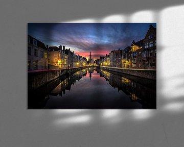 Night and day in Brugge von Remco van Adrichem