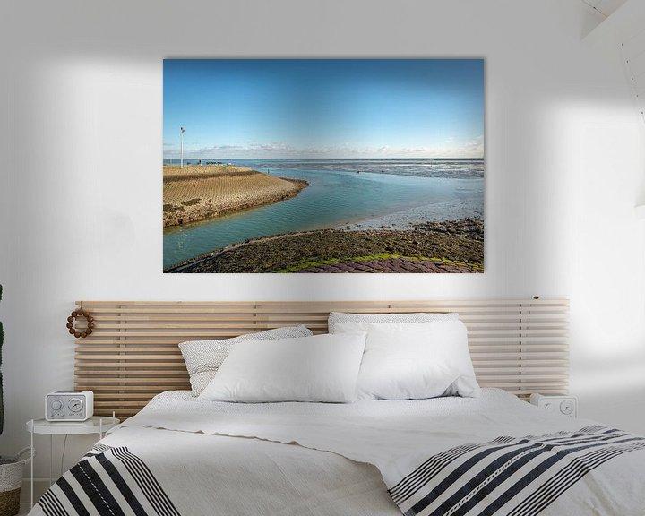 Sfeerimpressie: Havenmond van Yerseke van Ruud Morijn