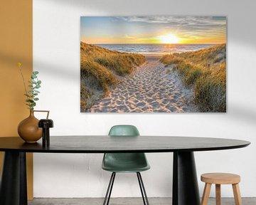 Strandopgang Texel / Beach entrance Texel von Justin Sinner Pictures ( Fotograaf op Texel)