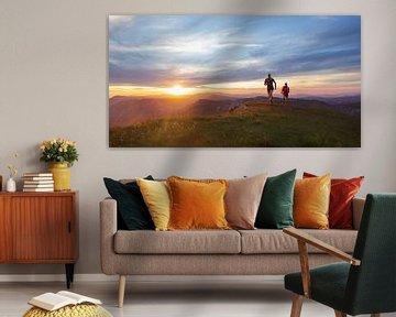 Sunset Run sur Sander van der Werf