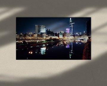 Wolkenkrabbers in Ho Chi Minh city von Milou Oomens