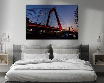De vernieuwe Willemsbrug 2 van Peter Dane