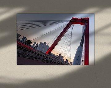De Vernieuwde Willemsbrug 3 van Peter Dane