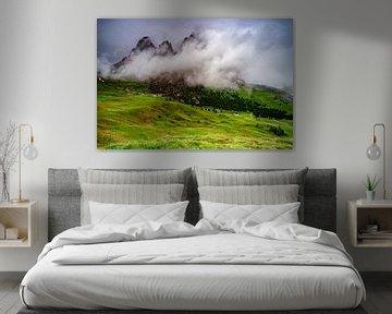 Sella in de wolken van Rene Siebring