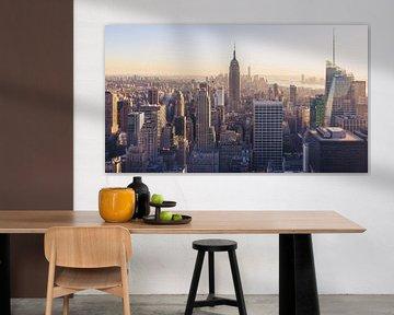 Panorama de skyline de New York