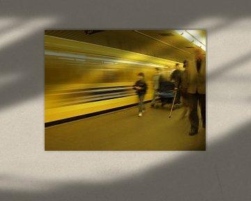 Subway Berlin sur ku nst