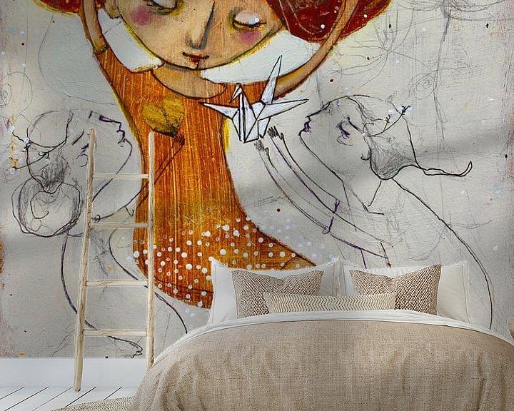 Sfeerimpressie behang: Hope van RAR Kramer