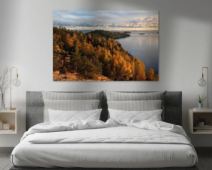 Sfeerimpressie: Zweedse herfst van Mark Leeman