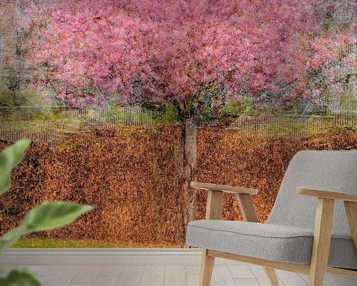 Impression: Multishot japanese cherry tree sur Patrick LR Verbeeck