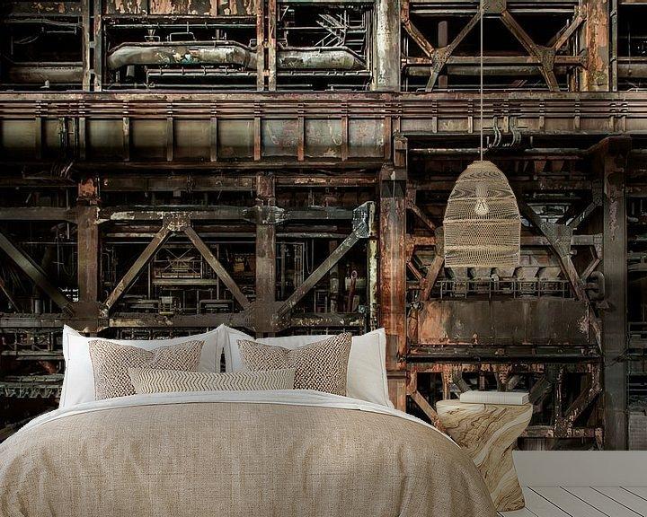 Sfeerimpressie behang: Heavy industrial van Olivier Photography