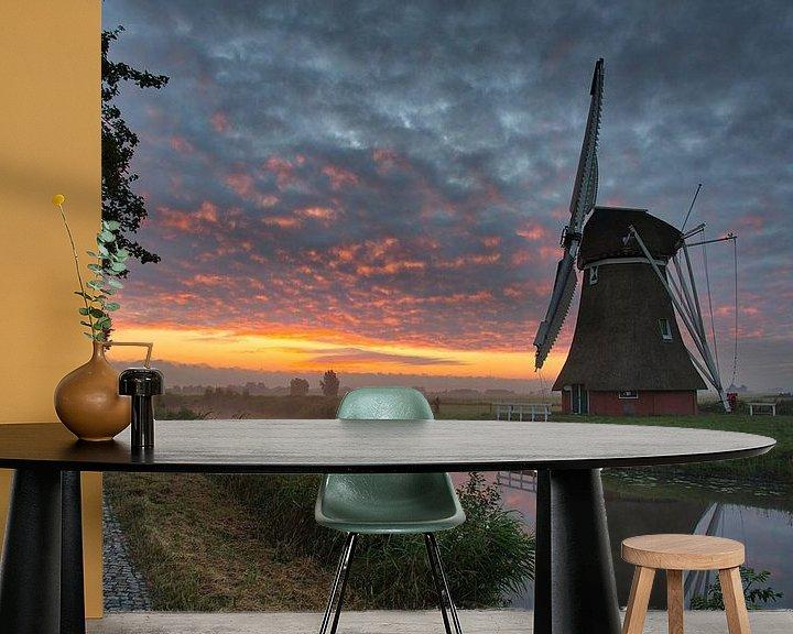 Impression: Krimstermolen at sunrise sur Anneke Hooijer