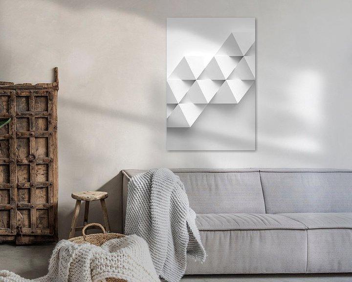Sfeerimpressie: Witte diamanten van Jörg Hausmann