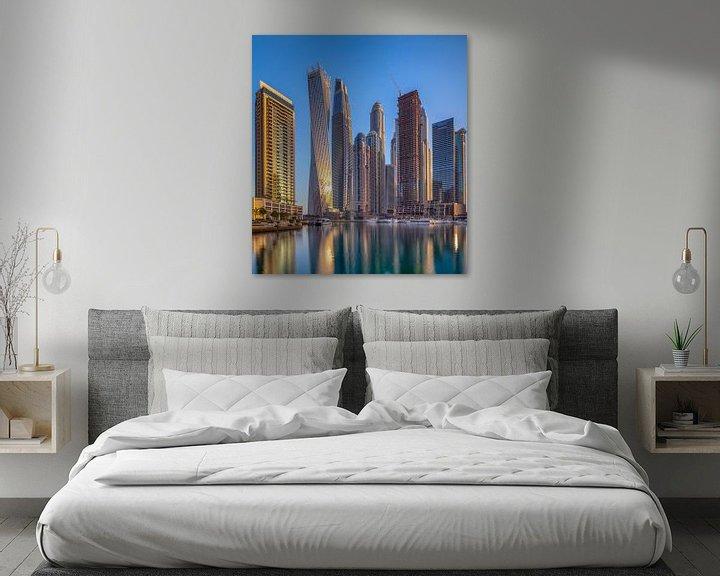 Sfeerimpressie: Dubai Marina van Rene Siebring