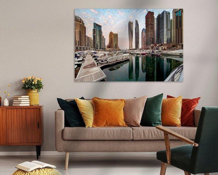 Sfeerimpressie: Marina Morning - Dubai van Rene Siebring