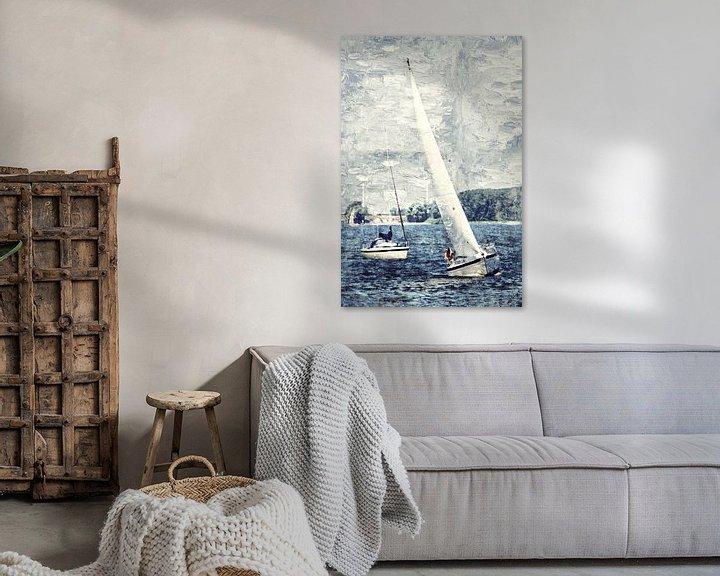 Sfeerimpressie: Sail away van Art by Jeronimo