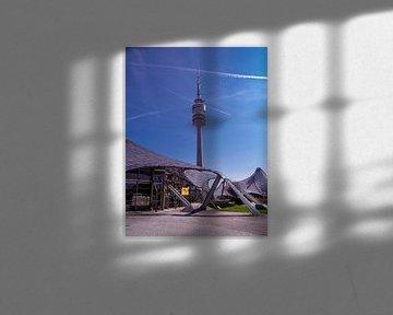 DE - Bavaria : Televisiontower Munich van Michael Nägele