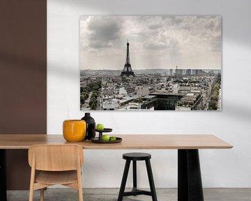 Blick auf den Eiffelturm von Jefra Creations