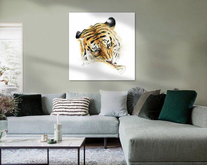 Sfeerimpressie: Siberische tijger van Bianca Snip