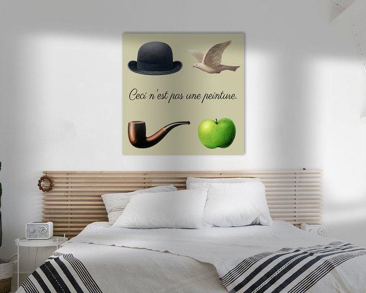 Sfeerimpressie: De spullen van Magritte van Roger VDB
