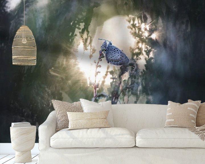 Sfeerimpressie behang: Sunrise van Bob Daalder