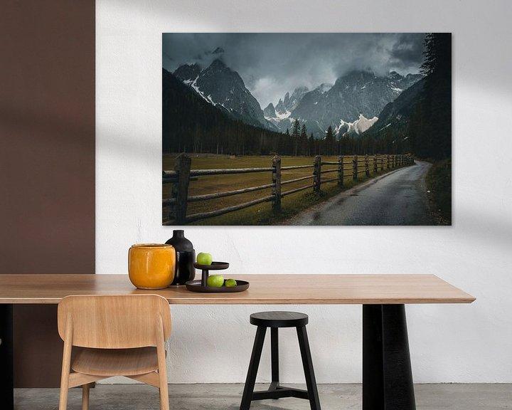 Sfeerimpressie: Dark mood in the Dolomites van michael regeer