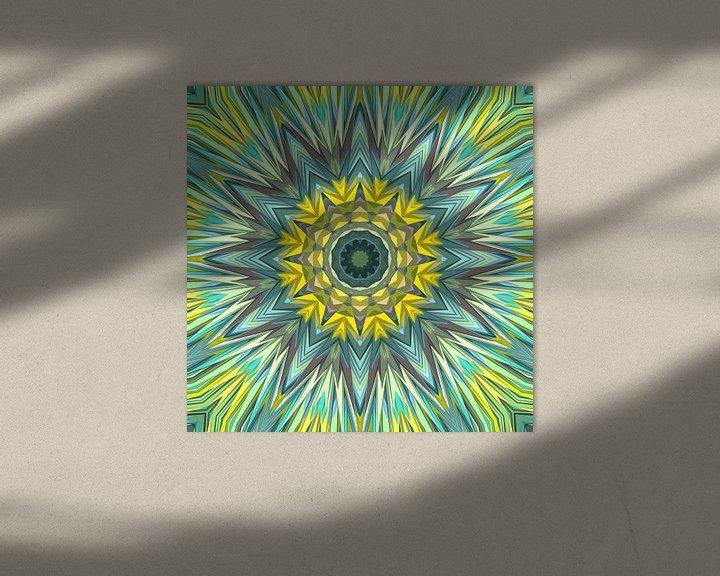 Sfeerimpressie: Mandala-stijl 3 van Marion Tenbergen
