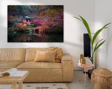 Japanischer Herbst von Maarten Mensink
