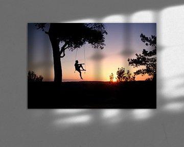Un coucher de soleil qui swingue sur Arjen Roos