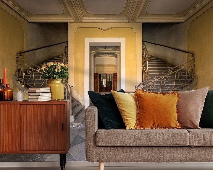 Beispiel fototapete: Palace in Europe. von Mandy van Sundert