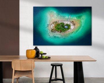 Einsam auf der Insel von Michael Schwan