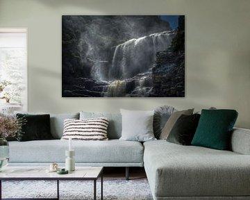 Tsitsikamma Waterfall van Guus Quaedvlieg