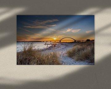 Brücke über den Fehmarnsund von Werner Reins