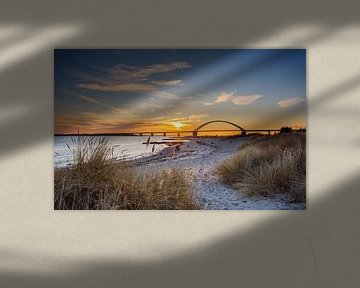 Pont sur le Fehmarnsund sur Werner Reins