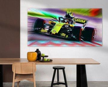 #55 Carlos Sainz junior 2018 - Version 1 van Jean-Louis Glineur alias DeVerviers