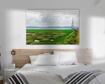 Pont de Normandie van Lisa Vollebregt