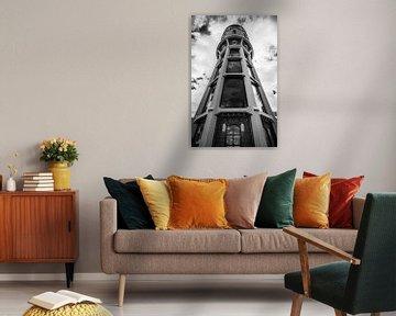 Watertoren in the sky von Jack Vermeulen