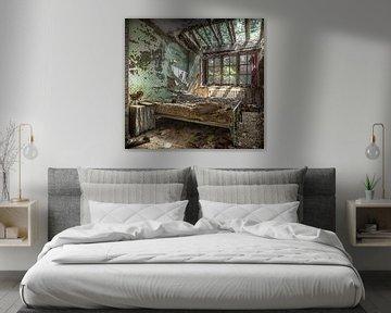 Schlafzimmer im Niedergang von Olivier Photography