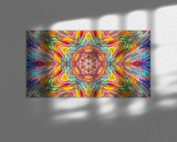 Mandala-stijl 40 van Marion Tenbergen