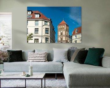 Blick auf die Östliche Altstadt von Rostock. von Rico Ködder